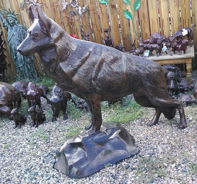 German Shepherd Garden Statue Home Design Ideas And Pictures