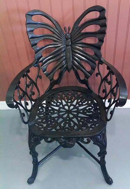 Superieur T647 Butterfly Chair In Bronze
