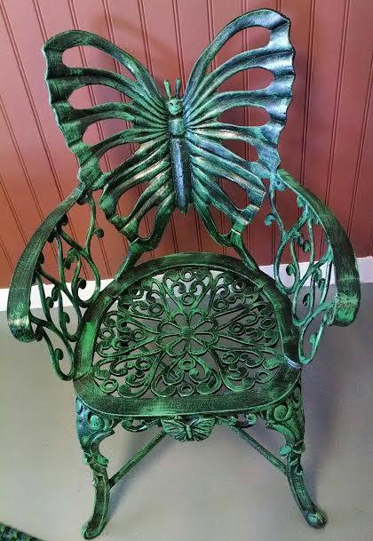 Great T647 Butterfly Chair In Verde