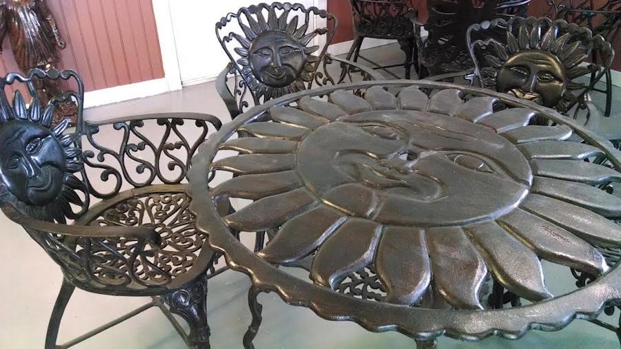 T649 Sun 5 Piece Set In Bronze